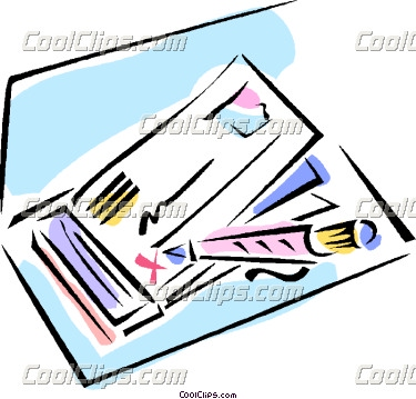 Pictures of checks clipart picture Clipart bank check - ClipartFest picture