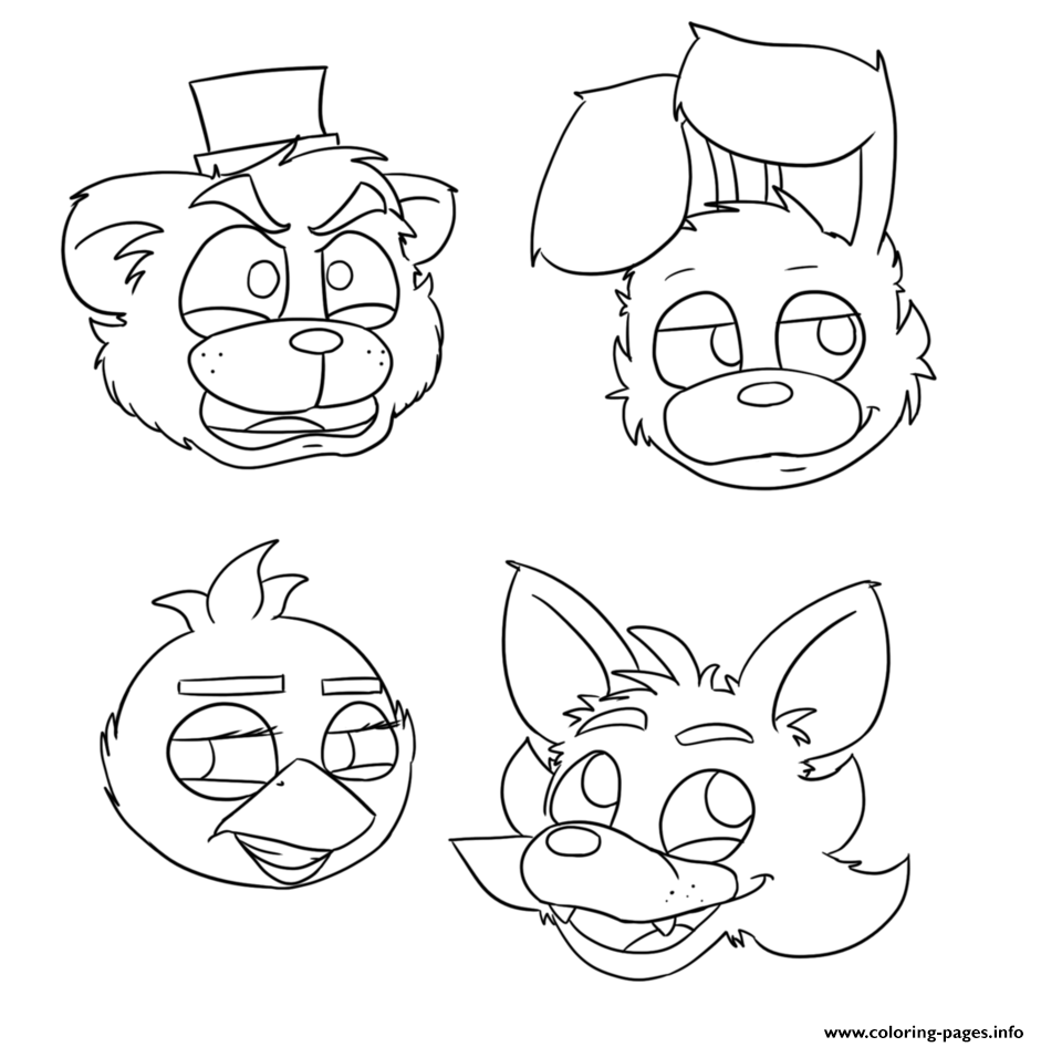 Pictures of foxy & mangle clipart no coloring svg freeuse download Pictures Of Foxy Mangle Png No Coloring & Free Pictures Of ... svg freeuse download