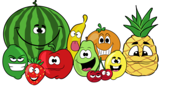 Pictures of fruits cliparts png library download Fruits- Cliparts Creator Kit- For Personal or Commercial use png library download