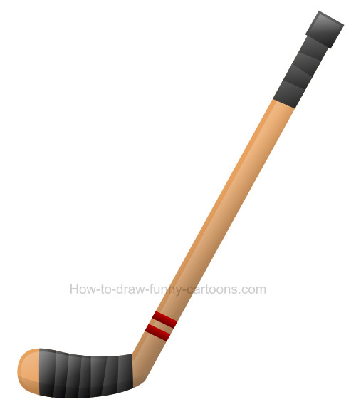 Pictures of hockey sticks clipart banner library stock How to draw a hockey stick clip art banner library stock