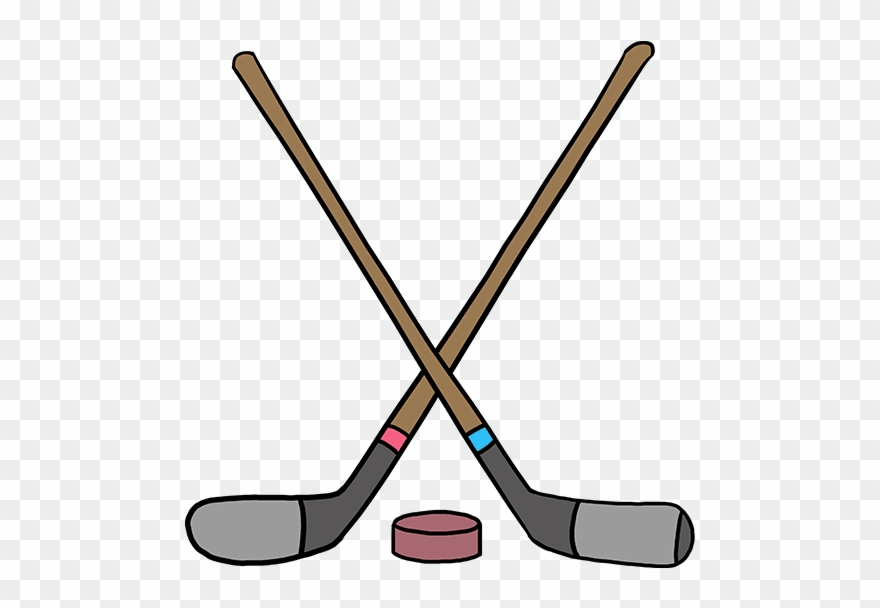 Pictures of hockey sticks clipart picture free library How To Draw Hockey Sticks Clipart (#2992870) - PinClipart picture free library