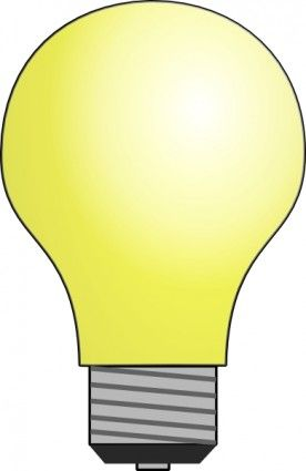 Free clipart big lightbulb in small lamp picture download Light Bulb clip art | schooling | Light bulb drawing, Light ... picture download