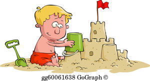 Pictures of sandcastles clipart image free stock Sand Castle Clip Art - Royalty Free - GoGraph image free stock