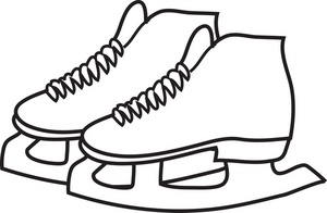 Skating clipart black and white clip art transparent download Skate Clip Art Free | Clipart Panda - Free Clipart Images clip art transparent download
