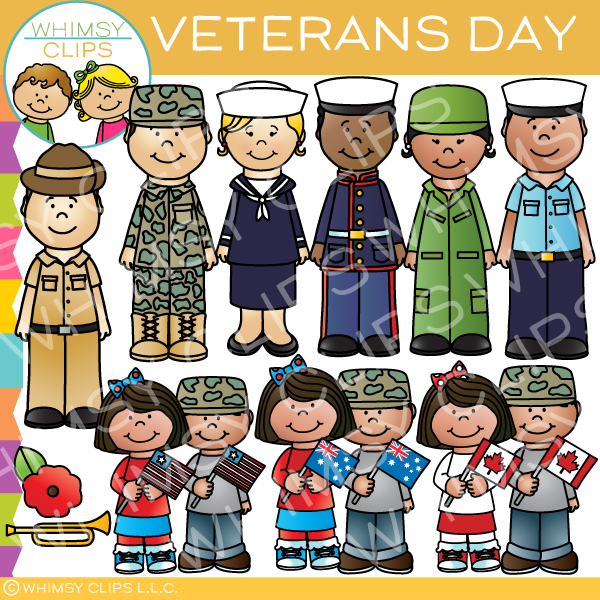 Veterans clipart for kids vector free download Veterans Day Clip Art vector free download