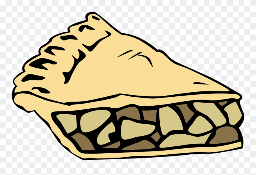 Pie and cake clipart png free library Pie Cake Apples Slice Piece Food Yummy - Apple Pie Slice ... png free library