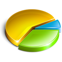 Pie chart icon clipart svg library stock Pie Chart Icon, PNG ClipArt Image | IconBug.com svg library stock