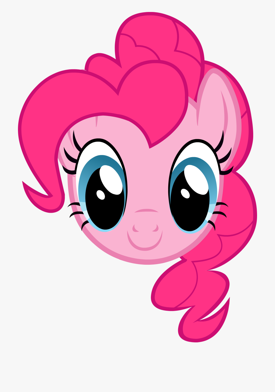 Pie face clipart vector Pie Throwing Png - My Little Pony Pinkie Pie Face #531237 ... vector