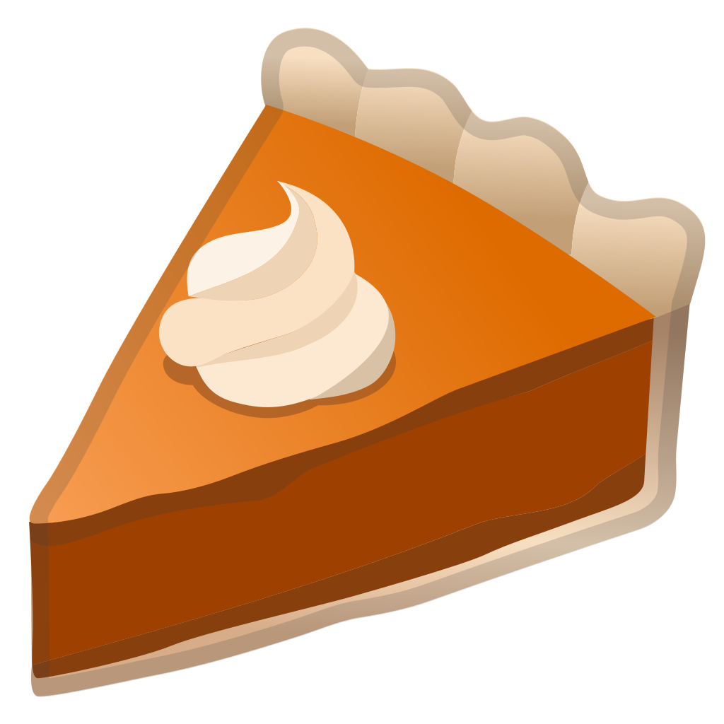 Piece of pumpkin pie clipart png clipart royalty free Pie Icon   Noto Emoji Food Drink Iconset   Google clipart royalty free