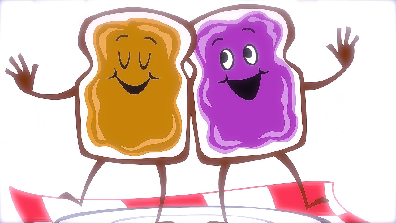 Pieces of a peanut butter and jelly sandwich clipart jpg freeuse library PEANUT BUTTER Jelly Time Stop Motion Video - SMARTalec jpg freeuse library