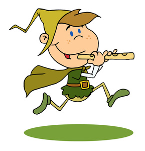 Pied piper clipart banner freeuse library Boy Dressed as The Pied Piper   Weather Clipart banner freeuse library