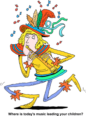 Pied piper clipart graphic download Image: Pied Piper - Where is todays music leading your ... graphic download