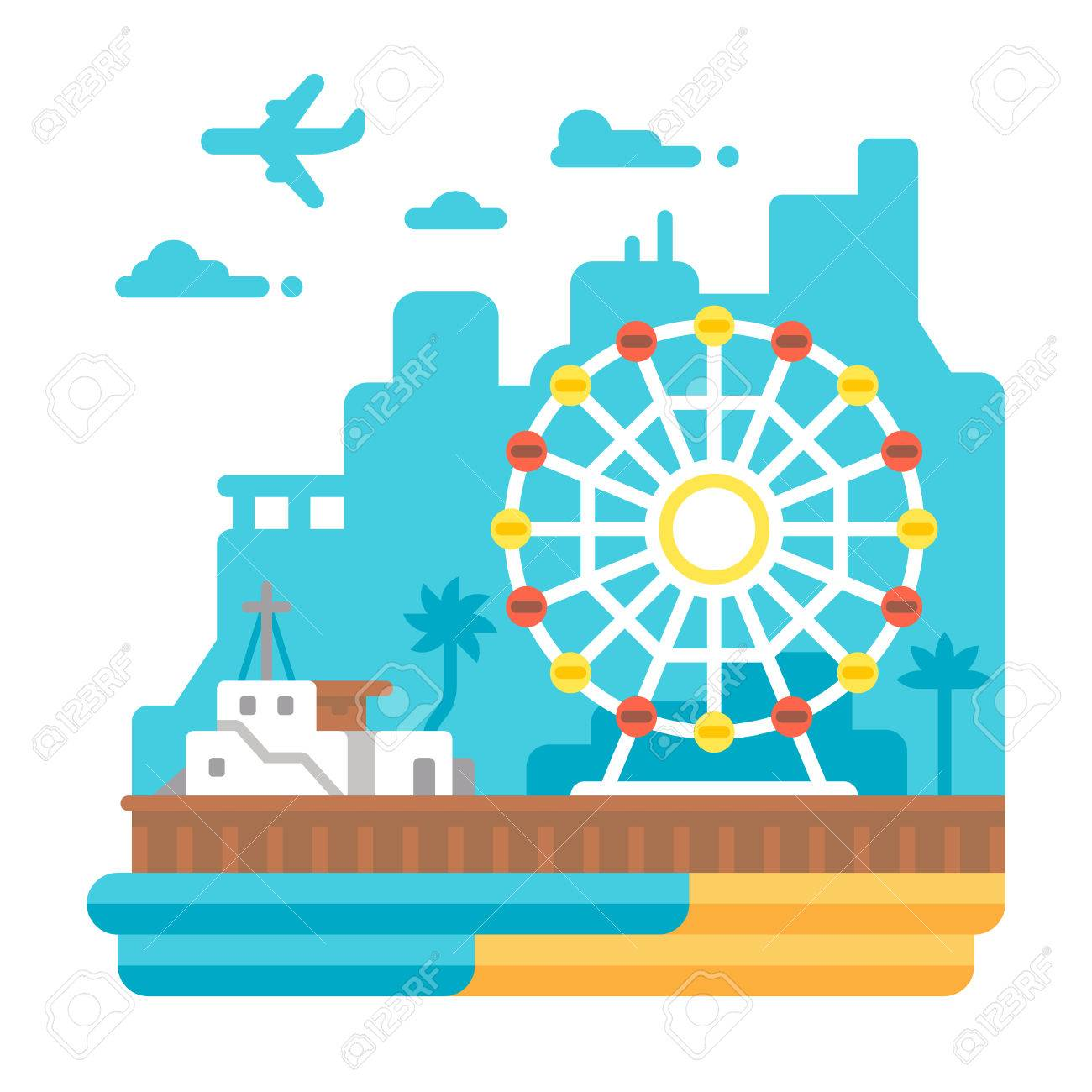 Pier clipart image royalty free stock Pier Clipart vector 1 - 1300 X 1300 Free Clip Art stock ... image royalty free stock