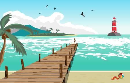 Pier clipart picture download Pier Clipart beach pier 3 - 450 X 288 Free Clip Art stock ... picture download