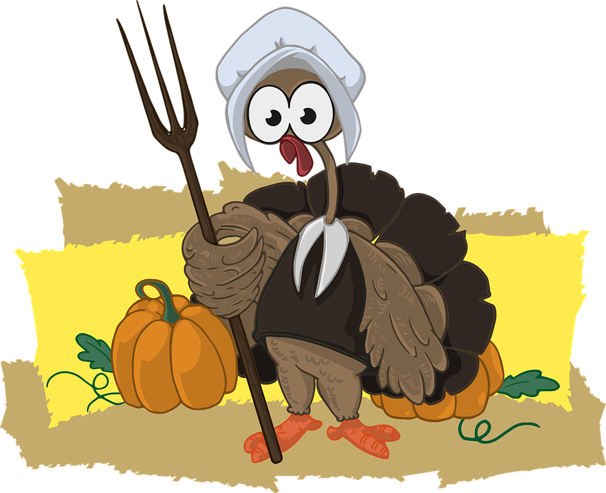 Pies for thanksgiving clipart svg freeuse download Funny Thanksgiving Clipart - Shop of Clipart Library svg freeuse download