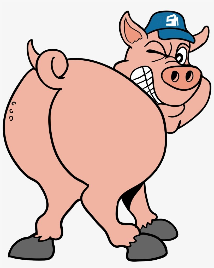 Pig butt clipart banner freeuse Pin by Gwen Ward on pork   Funny pigs, Cartoon, Peppa pig banner freeuse