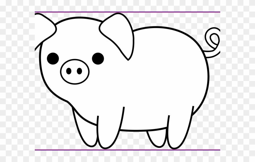 Pig clipart transparent png transparent stock Pig Clipart Face - Pig Clipart Black And White Png ... png transparent stock