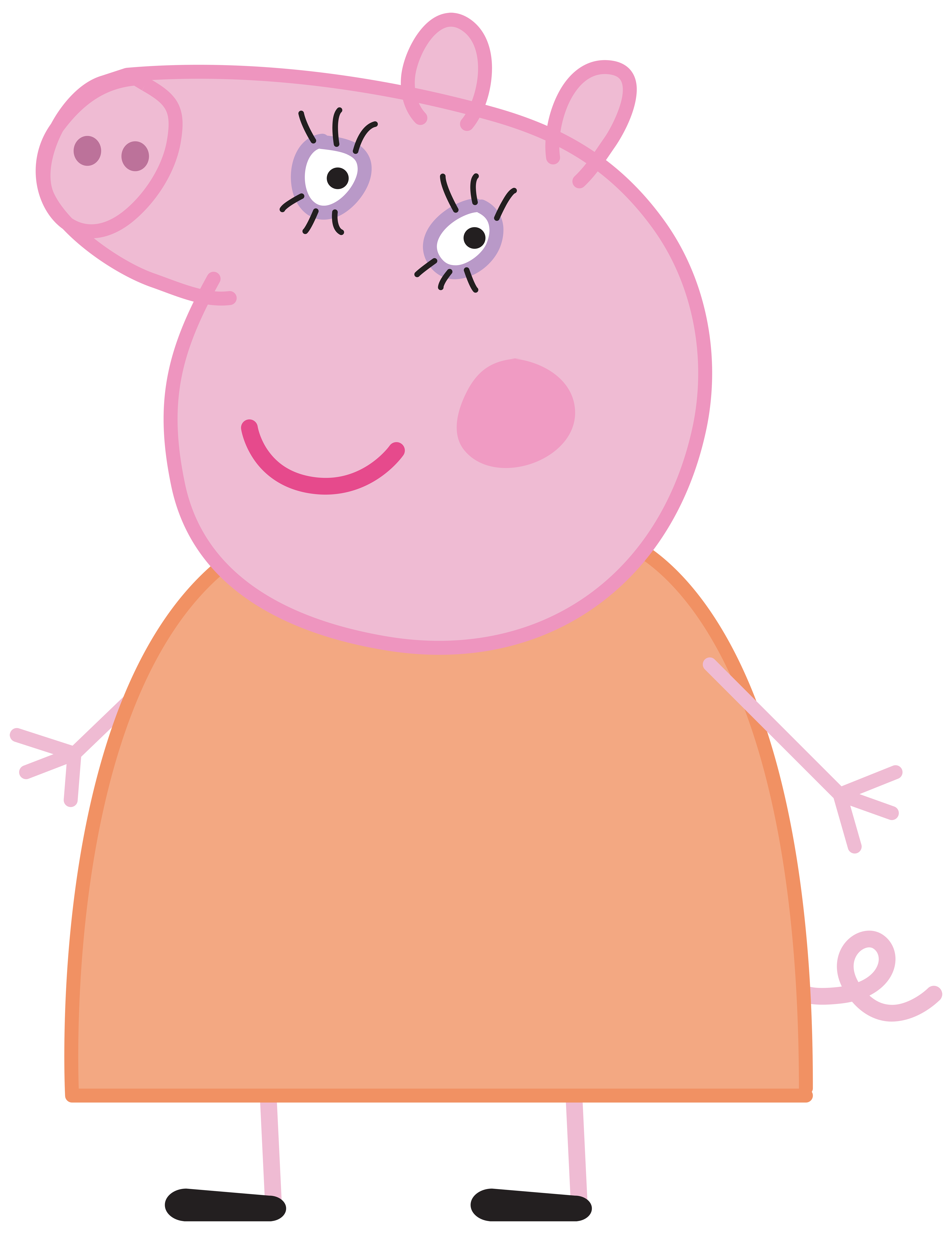 Pig halloween clipart vector Mummy Pig Peppa Pig Transparent PNG Image | Gallery Yopriceville ... vector