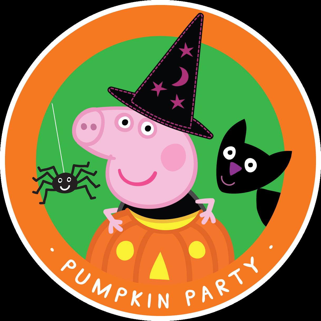 Pig halloween clipart vector transparent Peppa Pig Drawing Templates (50 Images) - Class Room Teacher vector transparent