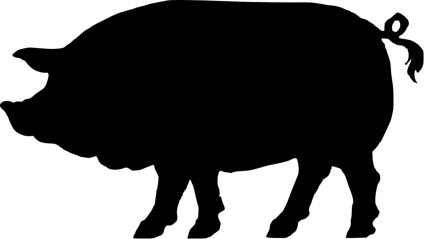 Pig head side view clipart image transparent download vintage pig clip art | 22 pig silhouette free cliparts that ... image transparent download