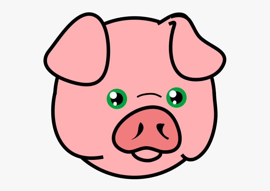 Pig head side view clipart vector royalty free stock Pig Free To Use Cliparts - Head Of A Pig #9910 - Free ... vector royalty free stock
