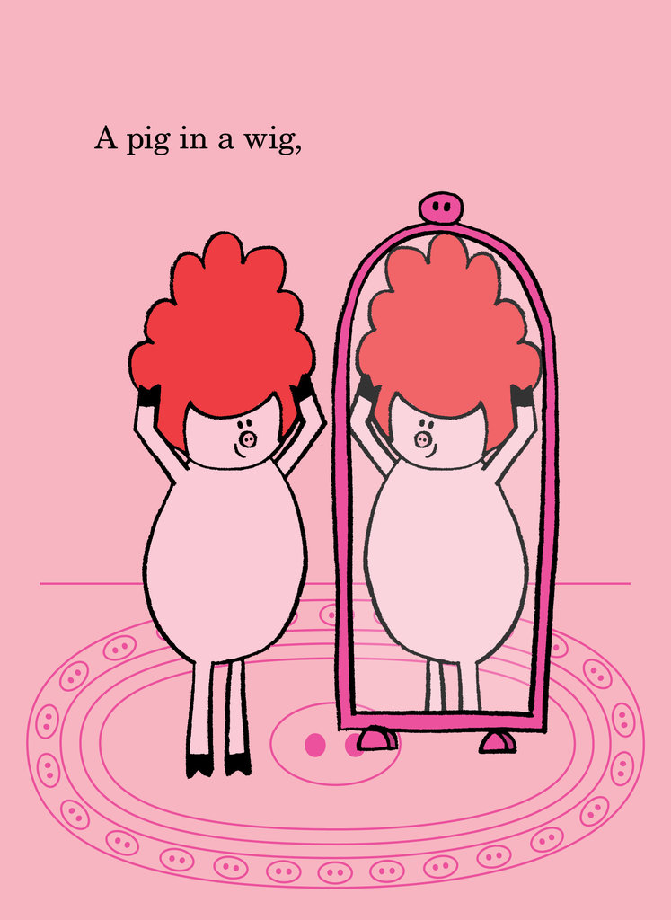 Pig in a wig clipart picture transparent stock What This Story Needs Is a Pig in a Wig,\' and More - The New ... picture transparent stock