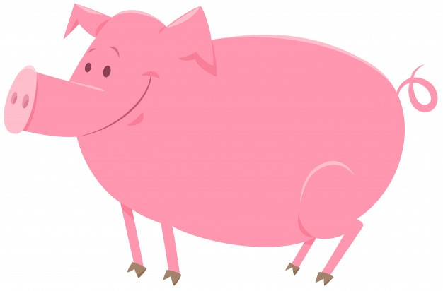 Pig laying down outline clipart vector png graphic free library Pig Vectors, Photos and PSD files | Free Download graphic free library