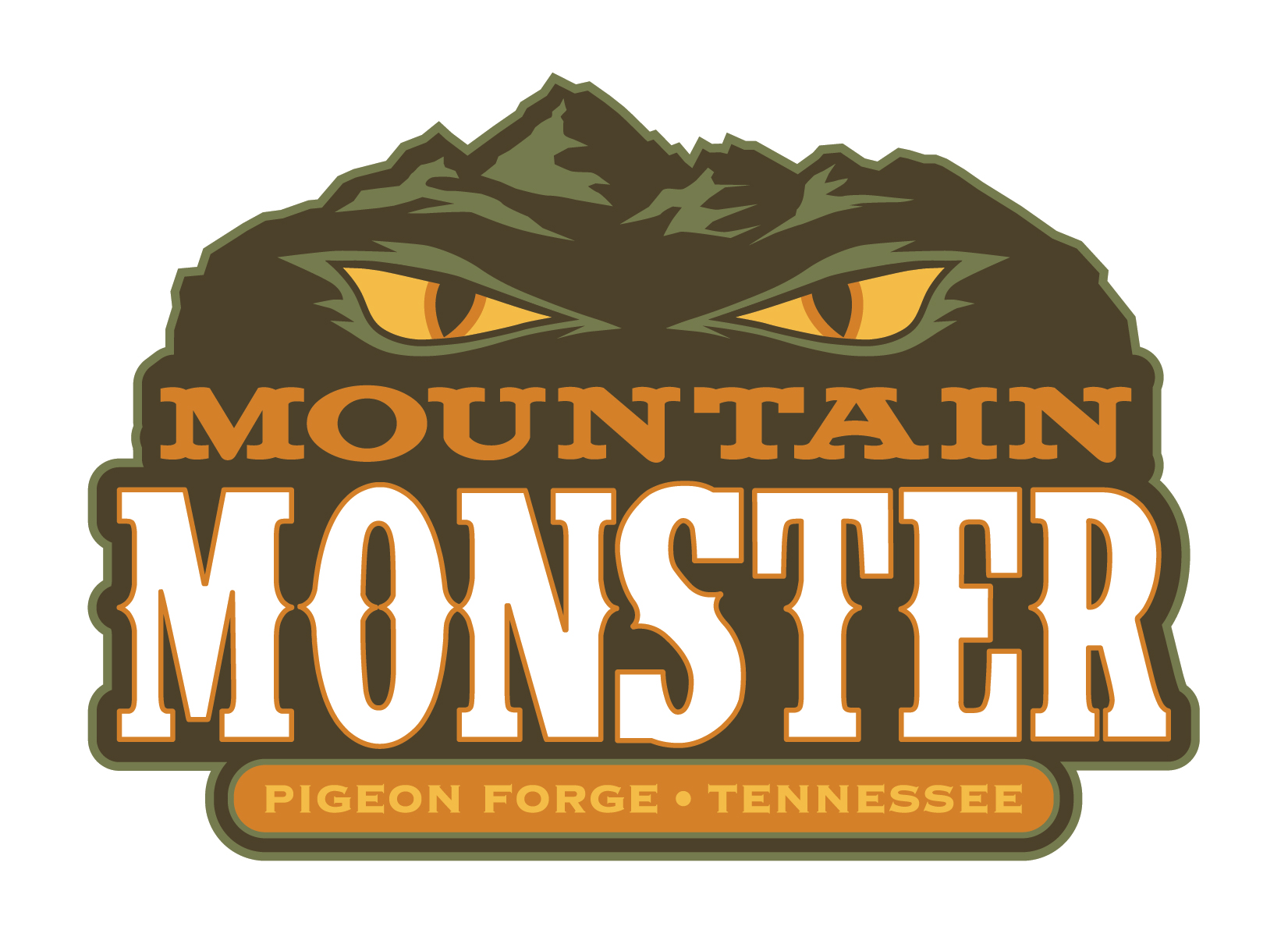 Pigeon forge tennessee black and white clipart clip THE MOUNTAIN MONSTER IS OPEN! - Mountain Mile Pigeon Forge clip