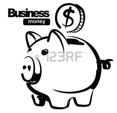 Piggy bank clipart black and white jpg free download 32,966 Piggy Bank Cliparts, Stock Vector And Royalty Free Piggy ... jpg free download