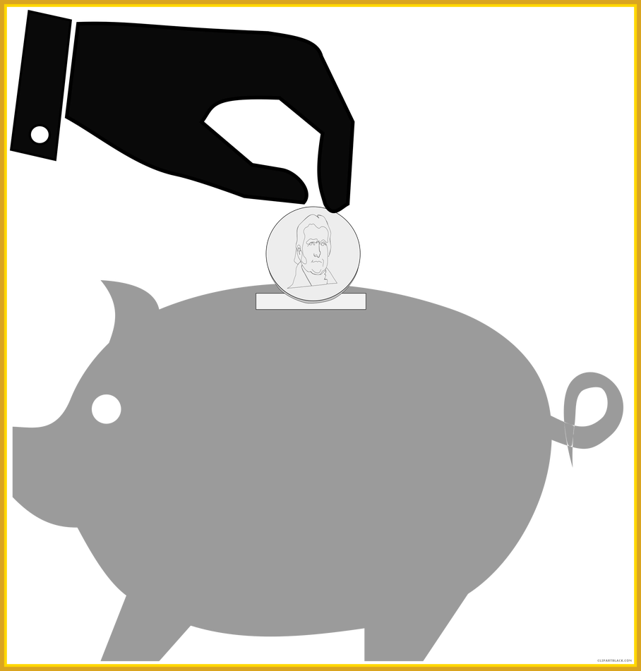 Piggy bank clipart free picture download Marvelous Piggy Bank Clipart Clipartblack Pic For Style And Concept ... picture download