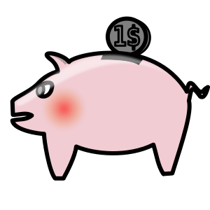 Piggy bank clipart free svg royalty free stock Piggy Bank Clipart Free   Clipart Panda - Free Clipart Images svg royalty free stock