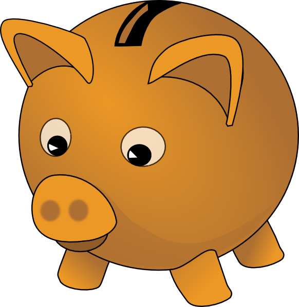 Piggy bank clipart images svg transparent download Piggybank Clip Art at Clker.com - vector clip art online, royalty ... svg transparent download
