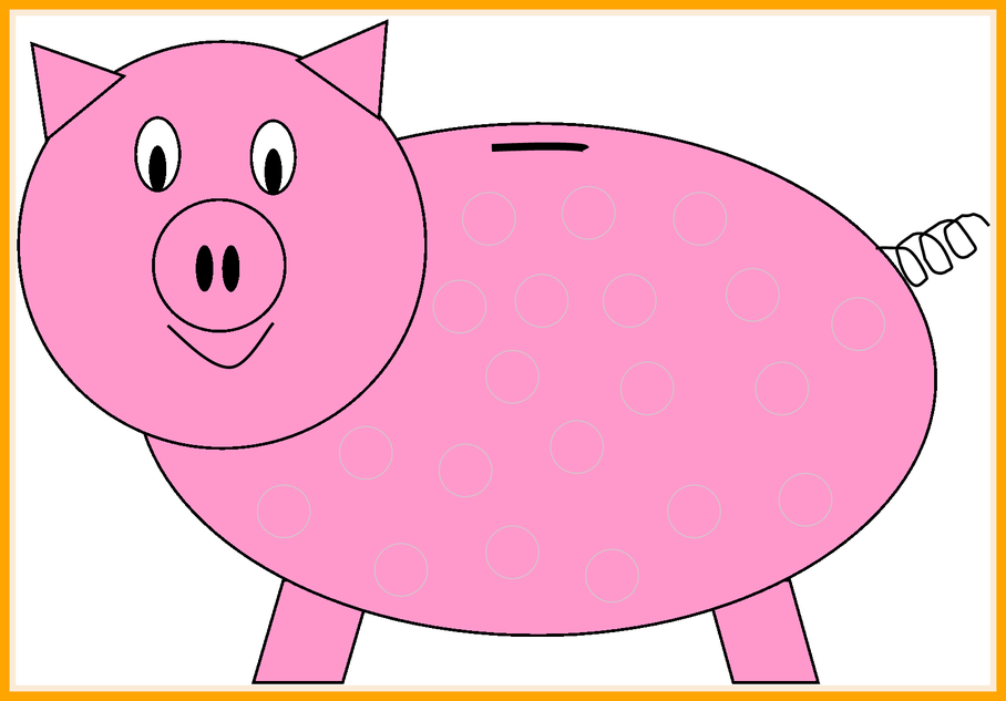 Piggy bank clipart kids picture library library Amazing Piggy Bank Clipart Wikiclipart Of Cute Pig Face Trends And ... picture library library