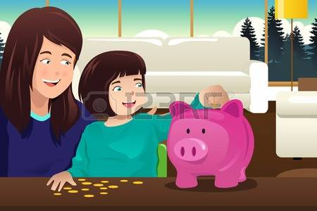 Piggy bank clipart kids saving picture freeuse library 556 Child Savings Stock Illustrations, Cliparts And Royalty Free ... picture freeuse library