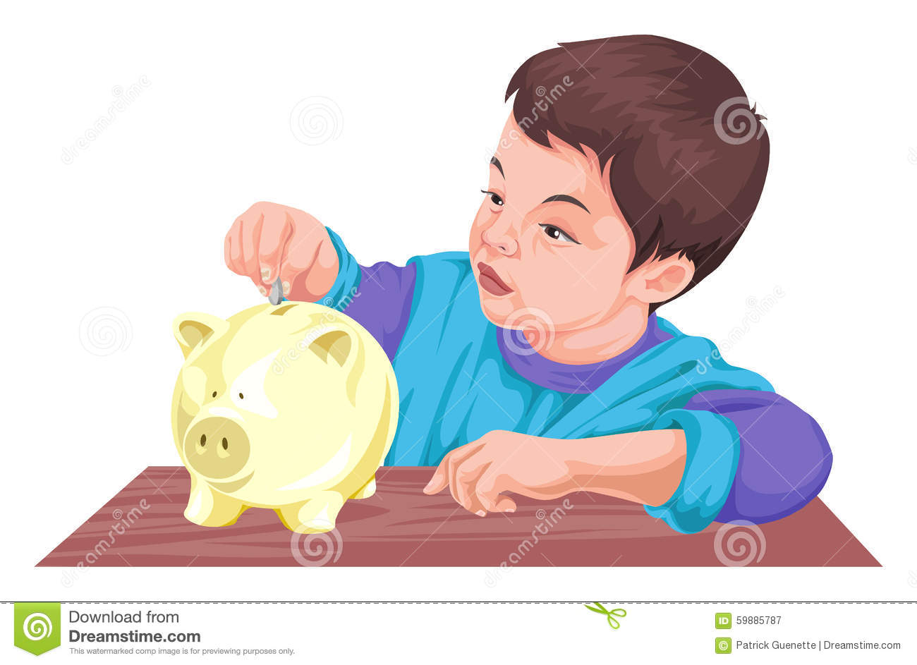 Piggy bank clipart kids saving image stock Piggy bank clipart kids saving - ClipartFest image stock