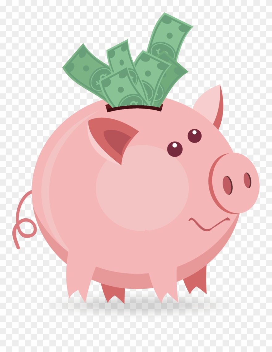 Piggy bank images clipart graphic library Piggy Bank Png Clipart (#2165448) - PinClipart graphic library