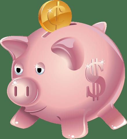 Piggy bank images clipart vector Piggy Bank Clipart transparent PNG - StickPNG vector