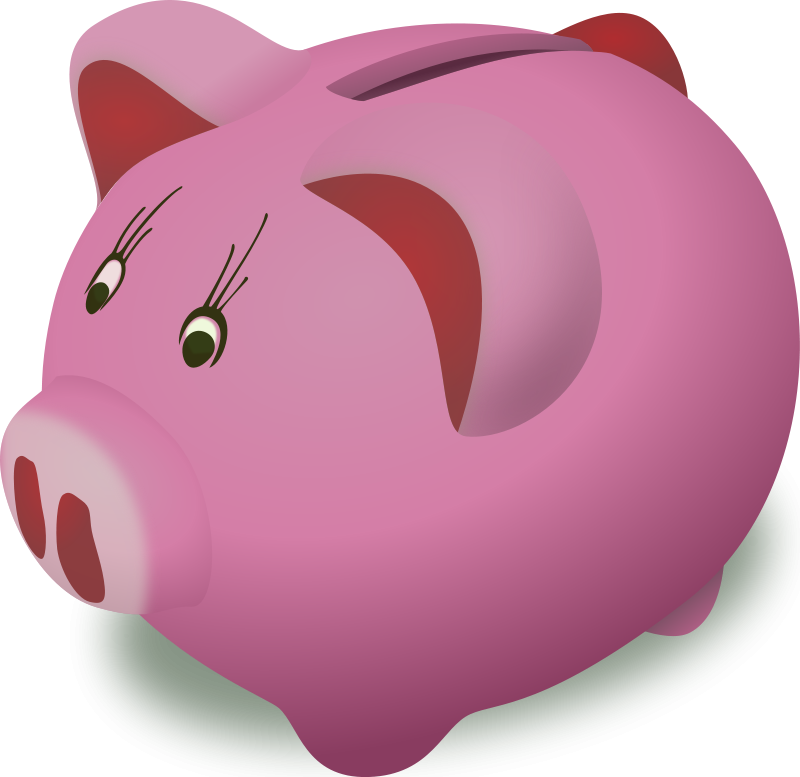 Piggy bank money clipart clip freeuse stock Piggy Bank FREE Money Clipart   Money Clipart Org clip freeuse stock