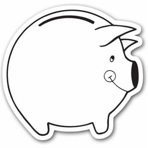 Piggy bank money clipart coloring page cute clipart free Piggy bank money clipart coloring page cute - ClipartFox clipart free