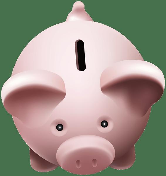 Piggy bank saving money clipart clipart free download Piggy Bank Top View transparent PNG - StickPNG clipart free download