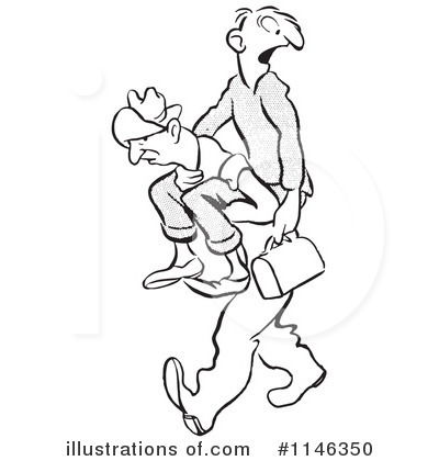Piggyback ride clipart freeuse library Piggy Back Ride Clipart #1146350 - Illustration by Picsburg freeuse library