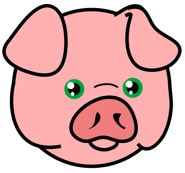 Pigs head on a fish clipart free clipart library stock Free Pig Head Cliparts, Download Free Clip Art, Free Clip ... clipart library stock