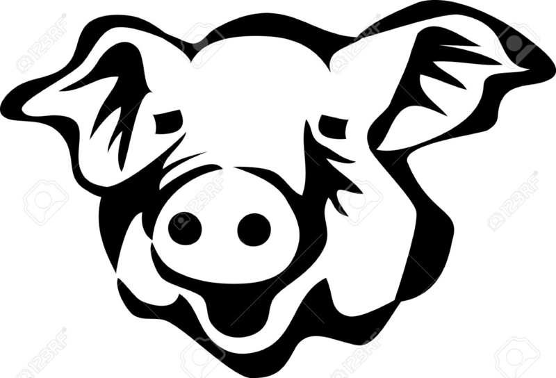 Pighead clipart free download Download Free png pig head clipart - DLPNG.com free download