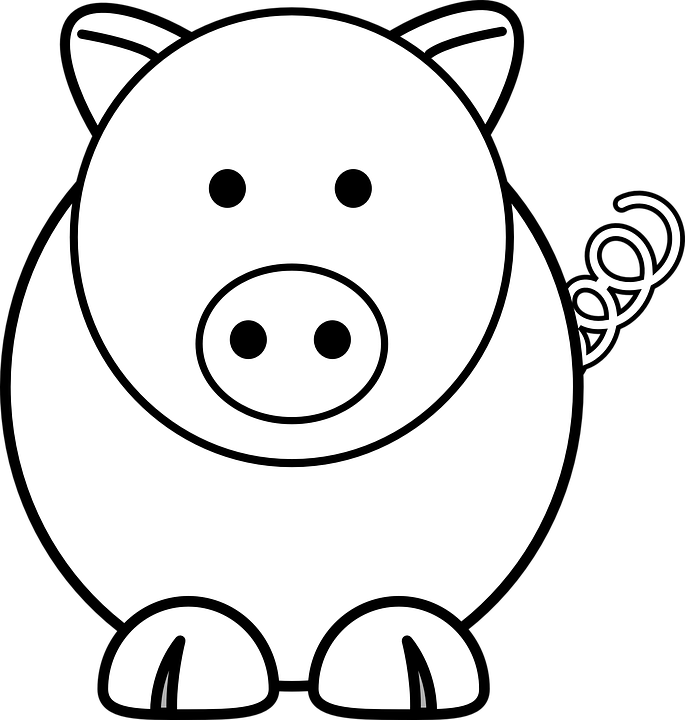 Piglet basketball clipart clipart royalty free Piglet page 3 clipart royalty free
