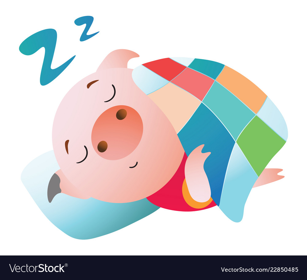 Pigs in a blanket clipart black and white download Emoji character a pig sleeping under a blanket black and white download
