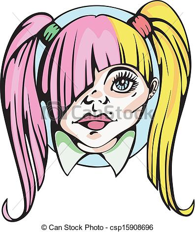 Pigtail clipart jpg free library Pigtail clipart 6 » Clipart Station jpg free library