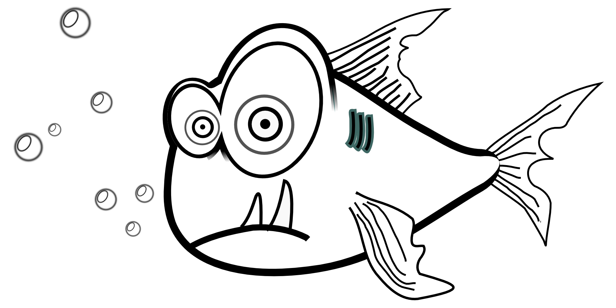 Pihrana clipart transparent Piranha Clip Art   Book Week 2016   Clipart images, Free ... transparent