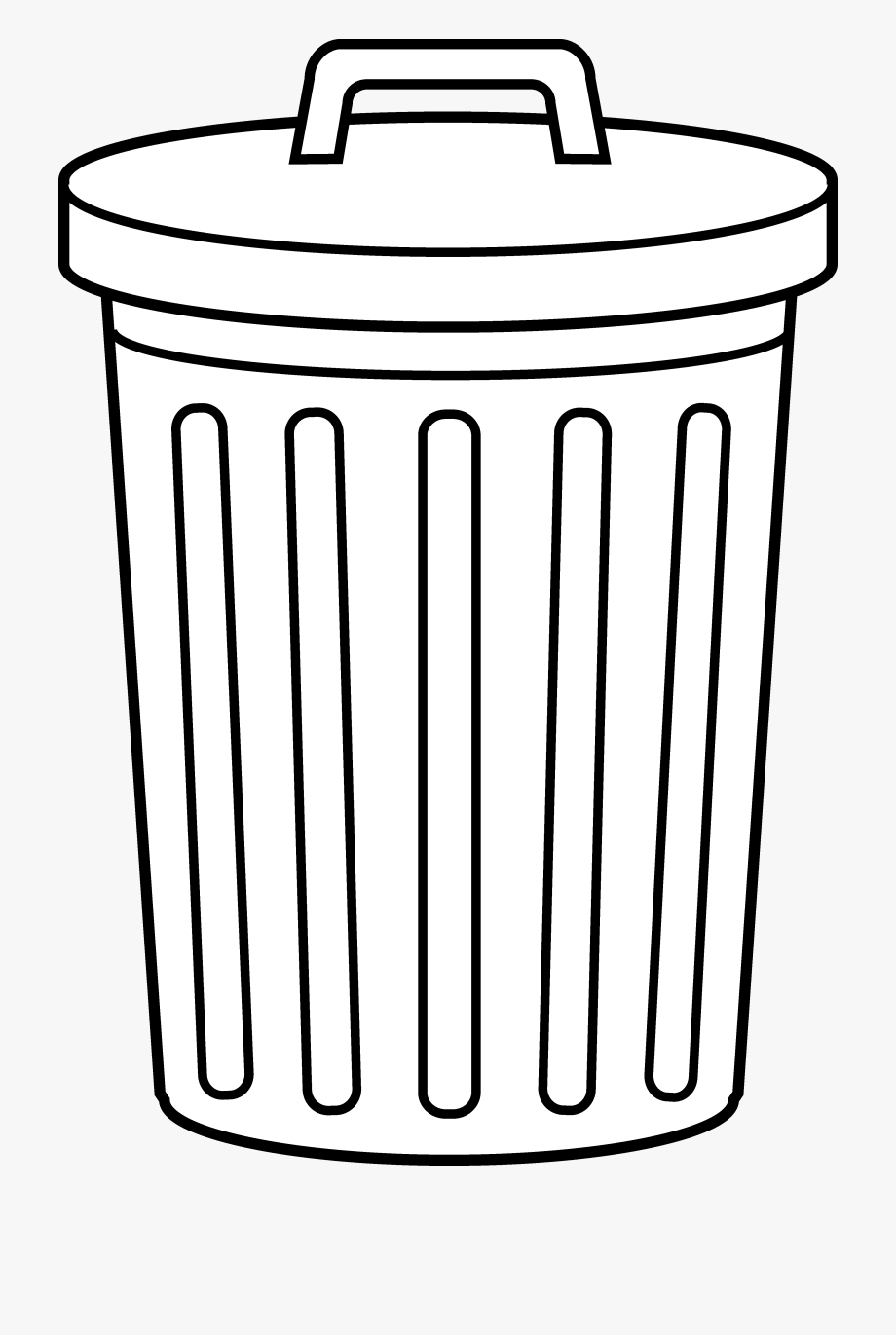 Pile of cans clipart black and white image free Awesome Free Pictures Of Trash Cans, Download Free - Trash ... image free