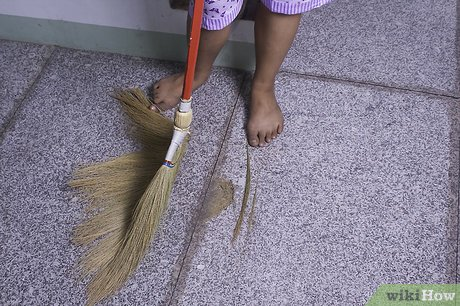 Pile of dust on ground sweep clipart clipart royalty free How to Sweep a Floor: 6 Steps (with Pictures) - wikiHow clipart royalty free