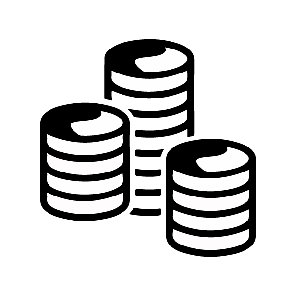 Pile of money clipart black and white free download iopan icons free download